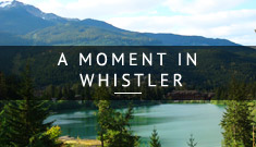 A lake in Whistler, Canada