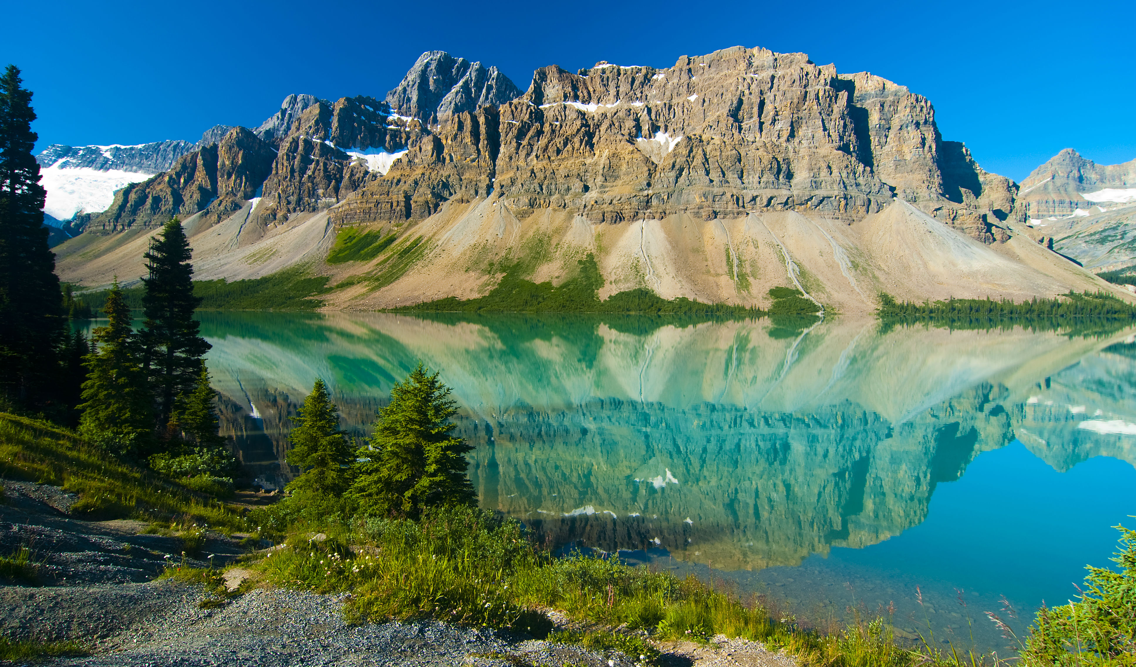 Take in the breath-taking glacial views