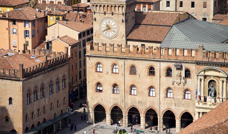 Architecture in Bologna, Italy