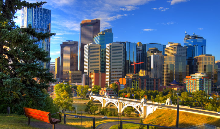 First stop: explore the city of Calgary
