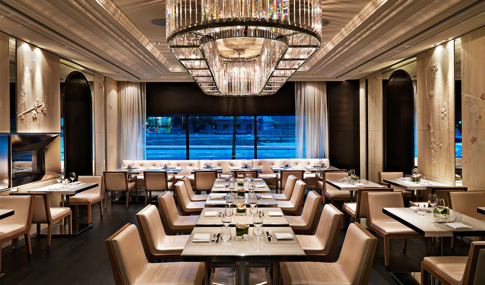 All that glitters is gold in the Hawksworth Restaurant