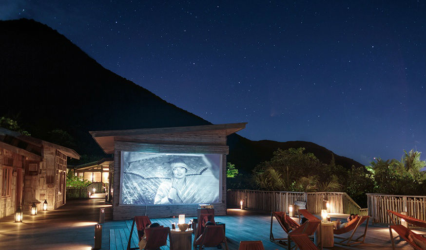 Indulge in movies under the stars