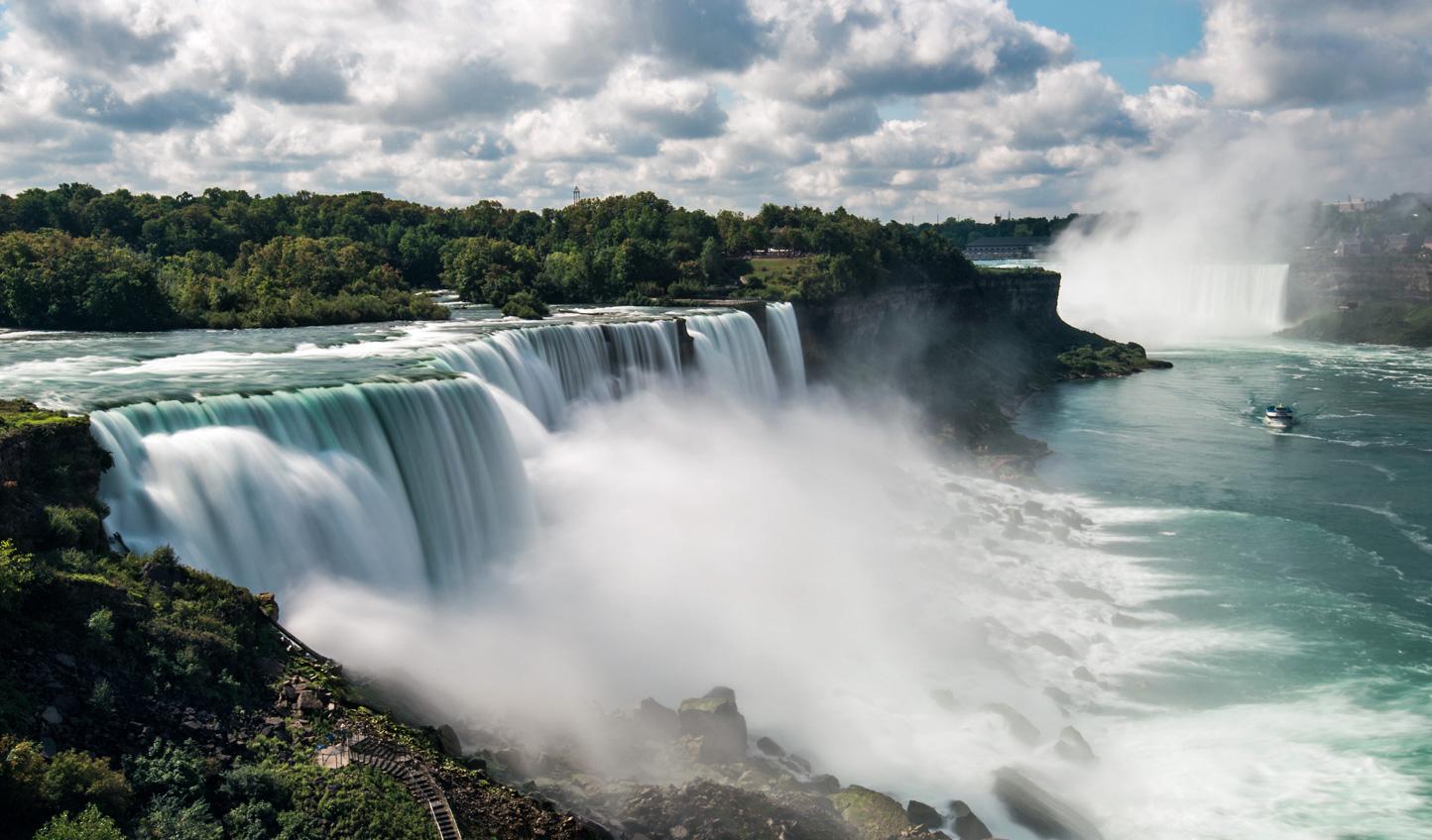 Feel the force of the Niagara Falls