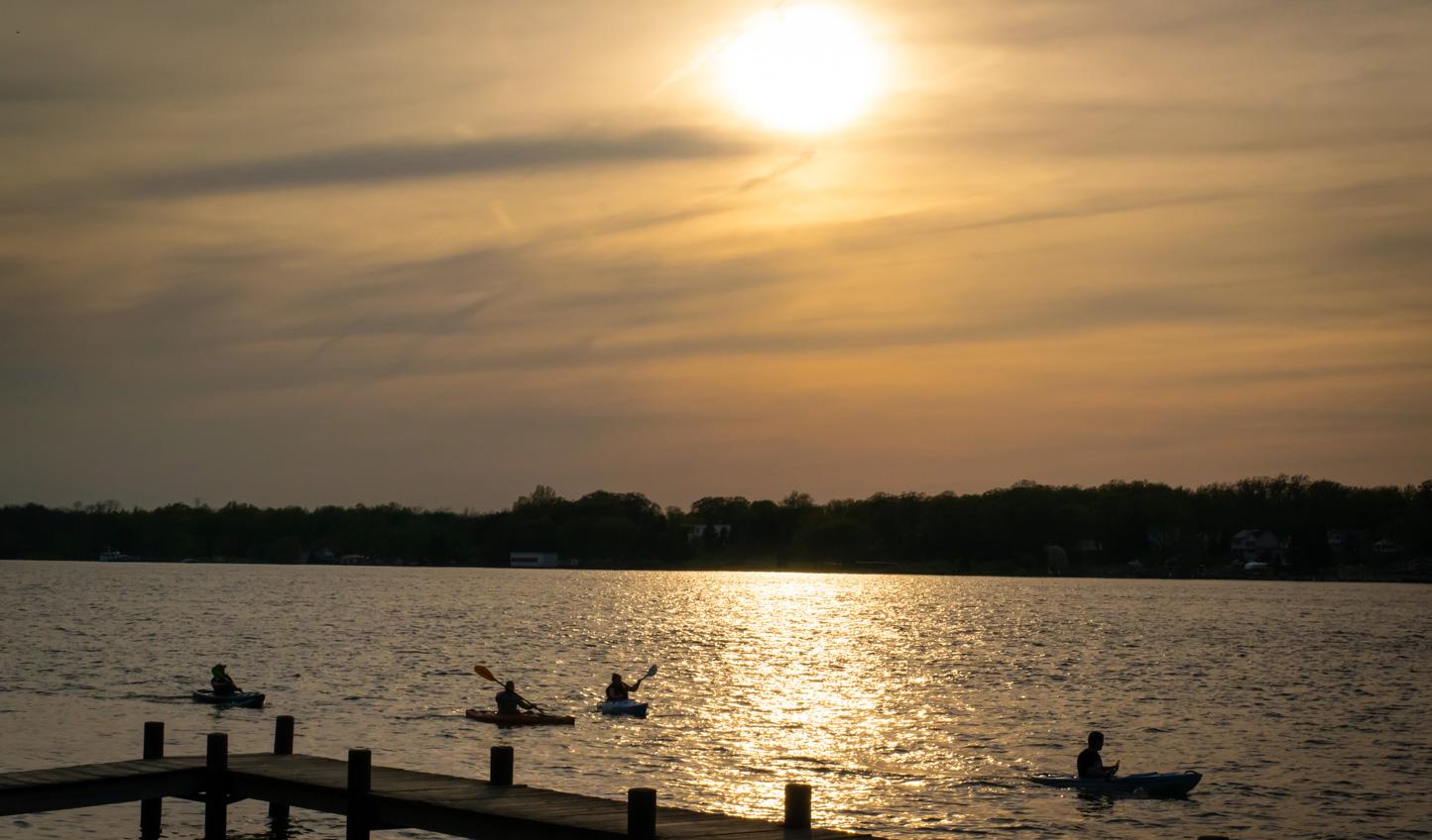 Kayak down the quieter waters of Niagara River
