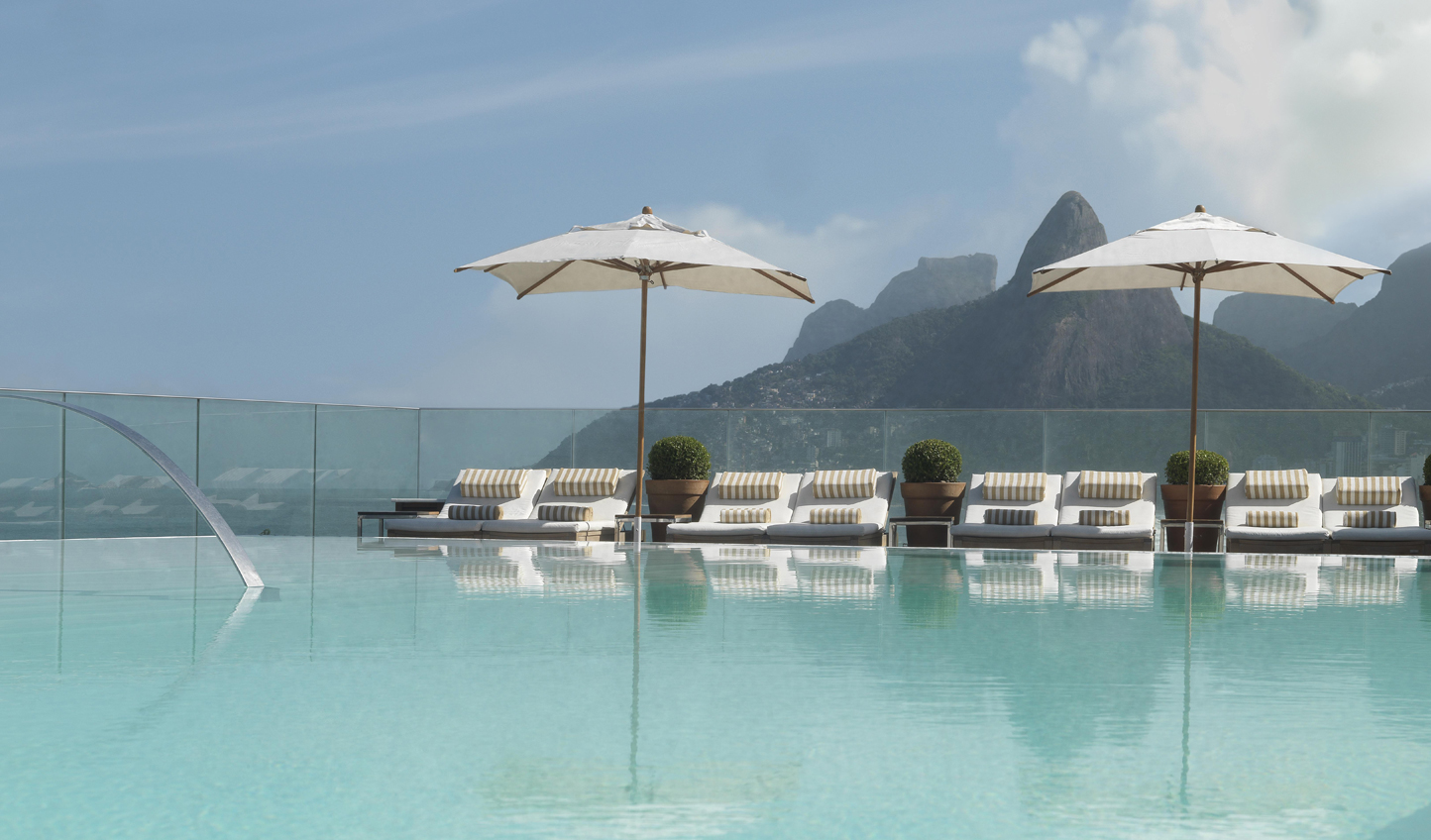 Soak up the views from the Fasano pool