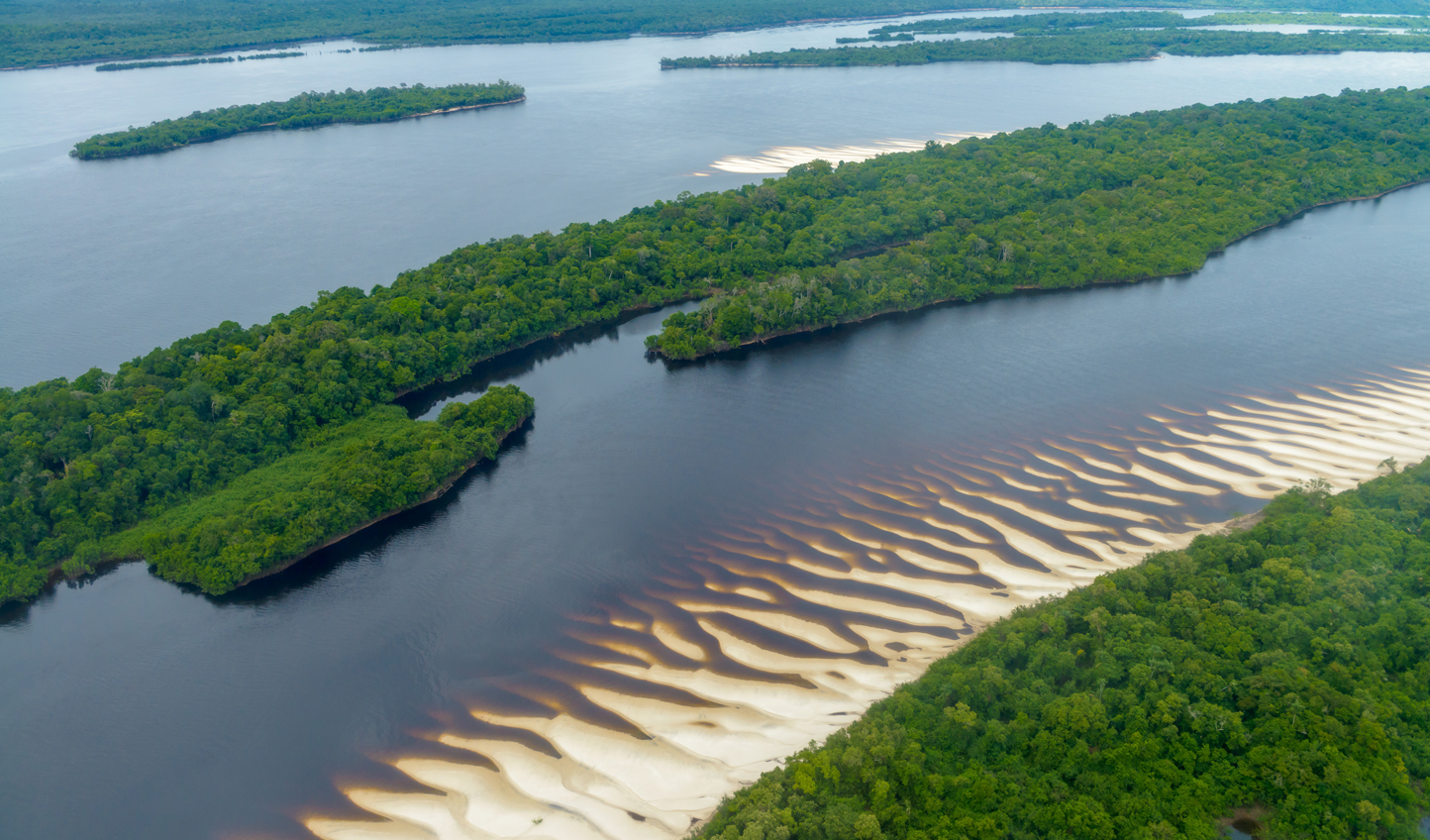 Fly over the Amazon Jungle to your lodge