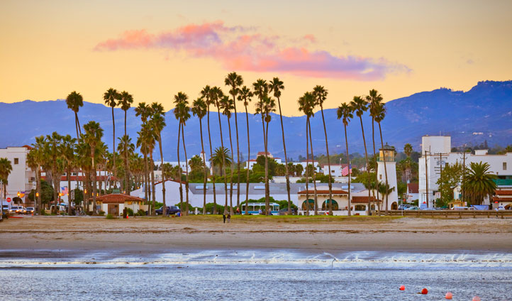 Head to downtown Santa Barbara, a short drive from your hotel