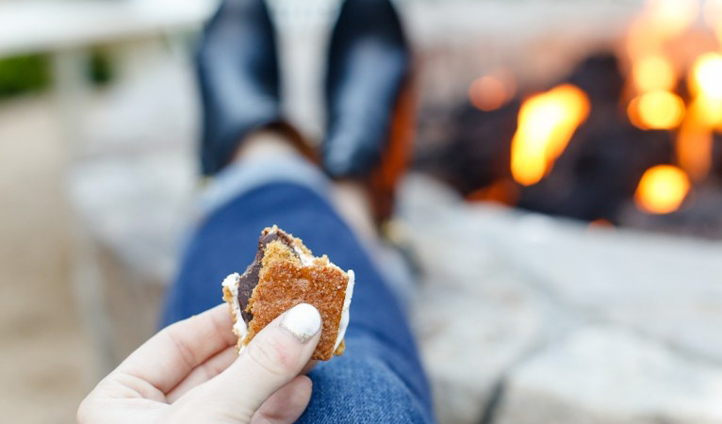 The perfect Sonoma s'more