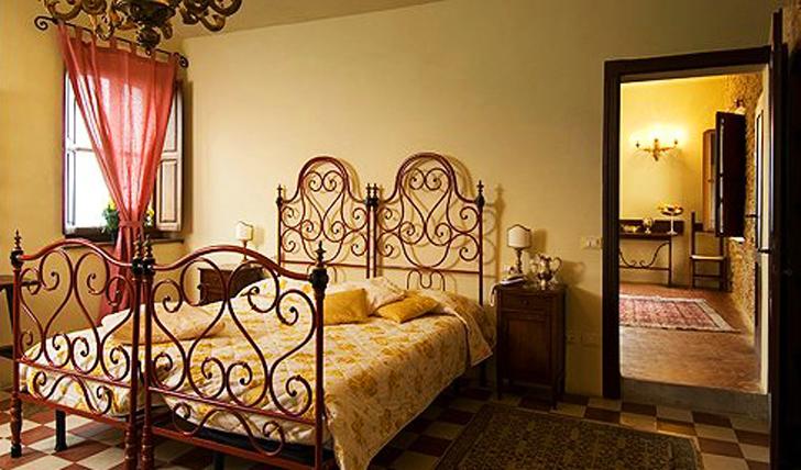 A room at the hotel, Emilia Romagna, Italy