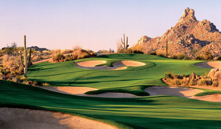 Enjoy a few rounds at the on-site golf course