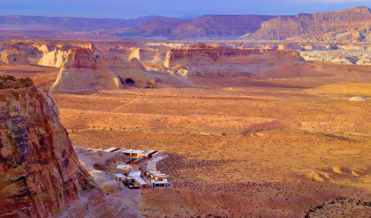 Head to Amangiri nestled in the Utah desert