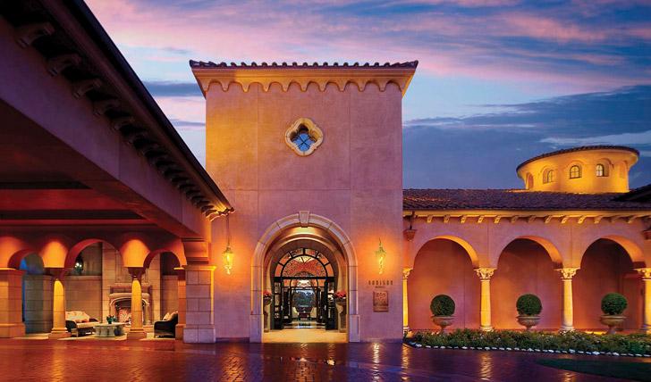 Entrance of The Grand Del Mar, San Diego