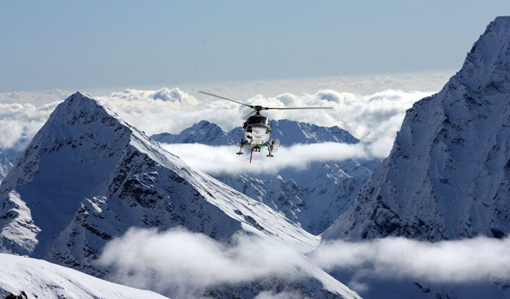 Heli Skiing in Switzerland