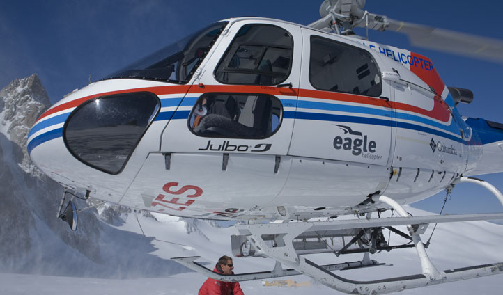 Heli-skiing in Zermatt