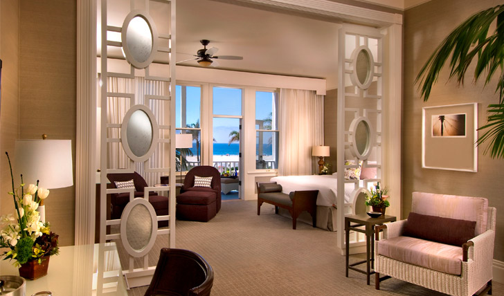 Beautiful sea view rooms