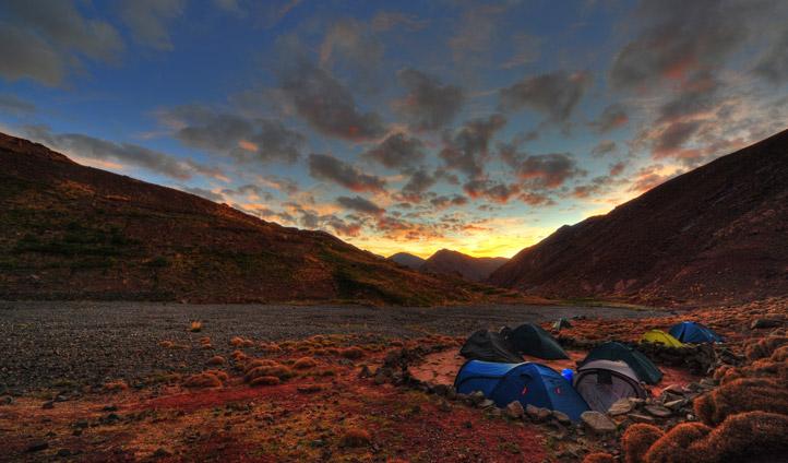 Desert camping in the Atlas Mountains | Black Tomato