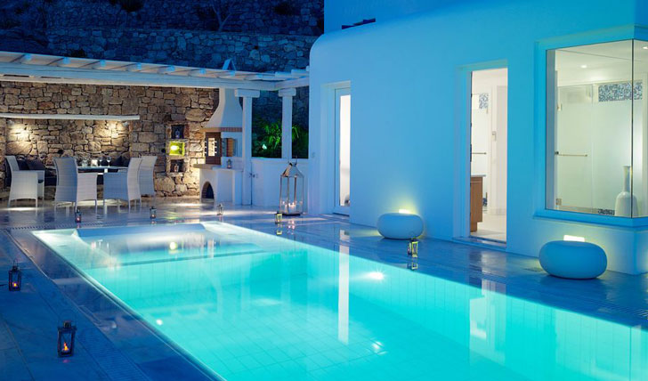 Luxury holiday at the Mykonos Grand, Greece