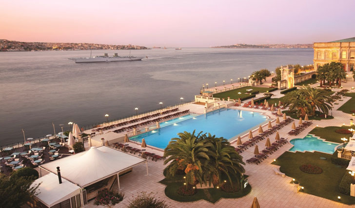 Luxury holiday at the Çırağan Palace Kempinski, Istanbul, Turkey