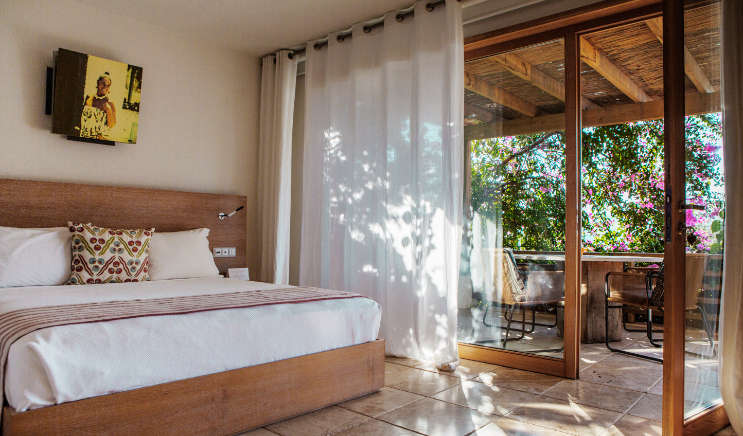 Light and bright rooms which leave you feeling rested and rejuvenated