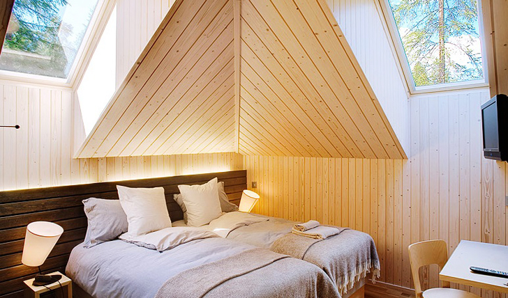 Simple yet charming bedrooms