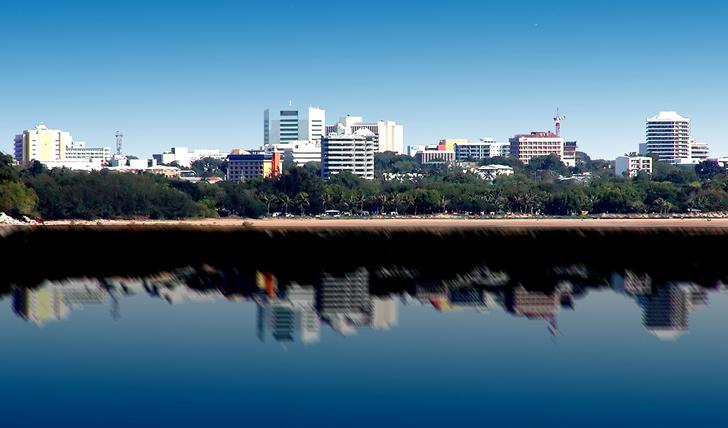 Darwin's skyline, Australia