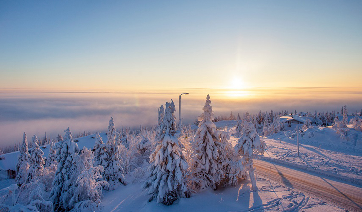 The view from your suite, Finland