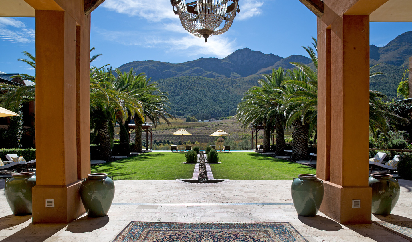 Wander La Residence's beautiful gardens
