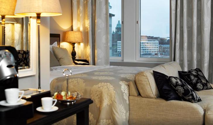 Bedroom at Hotel Haven, Helsinki, Finland