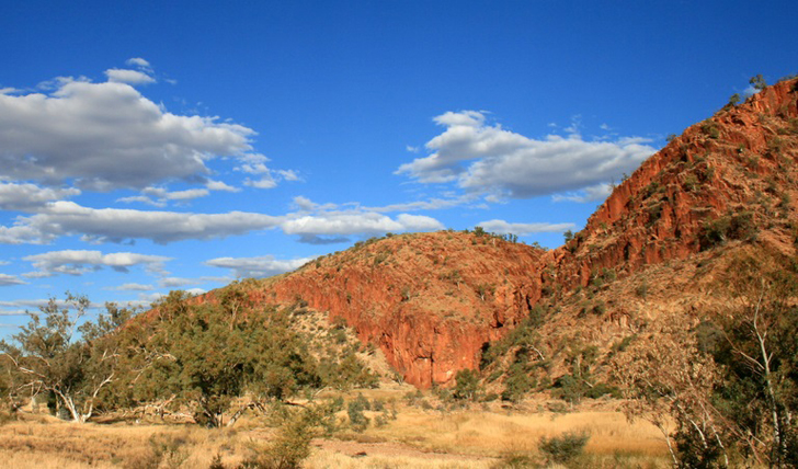 The landscapes of the NT, Australia