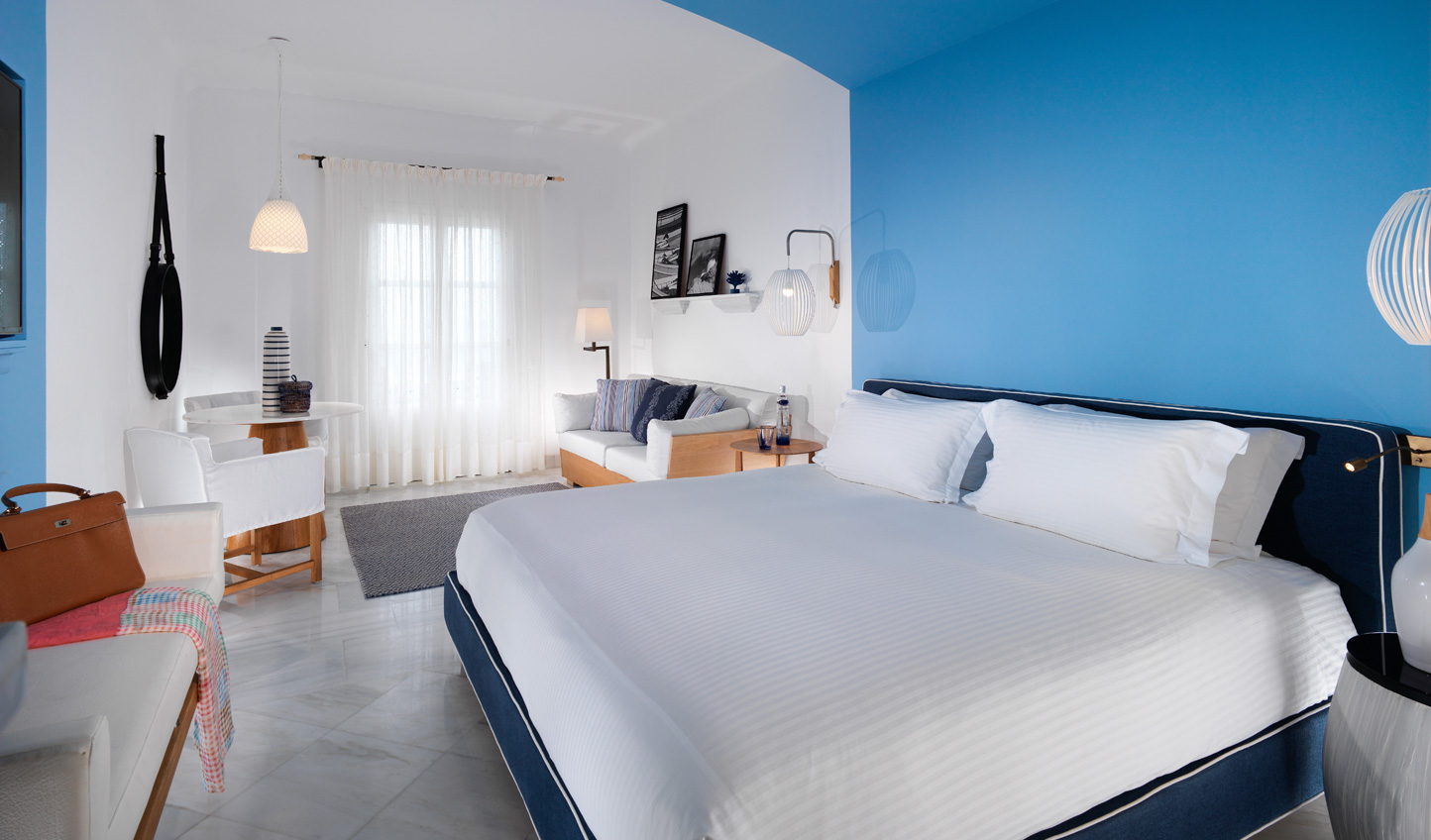 Sleep in style at the Mykonos Grand