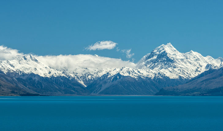 New Zealand's stunning scenery