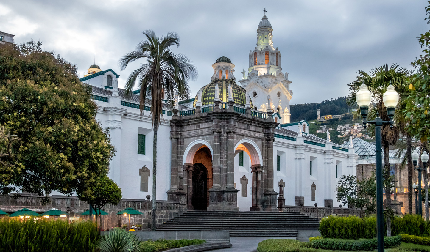Wander through Quito's Cathedral