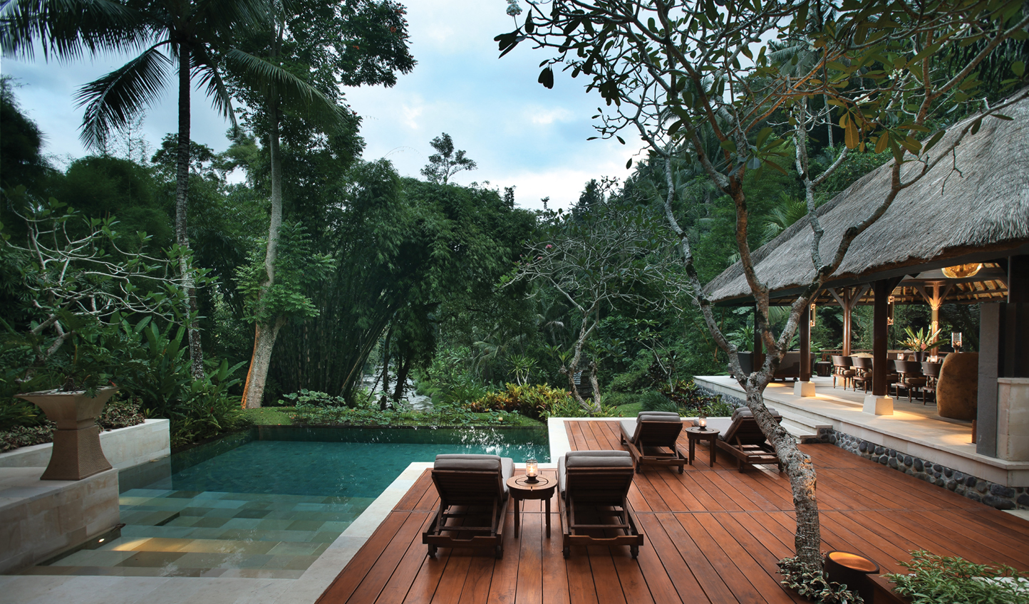 Hideaway for a few days at Four Seasons Resort Bali at Sayan