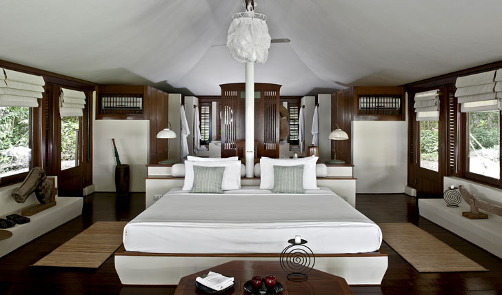 Sleep at the elegant Amanwana