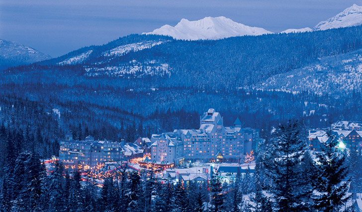 Soak up the views over Whistler
