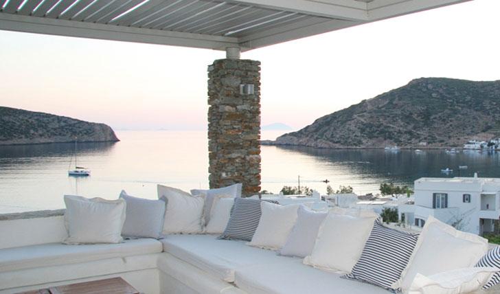 Luxury hotel Elies Resort in Sifnos, Greece
