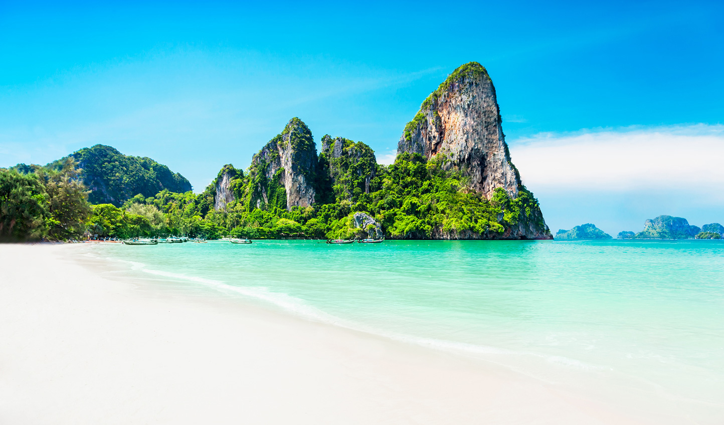 Explore the pristine sandy beaches of Northern Thailand