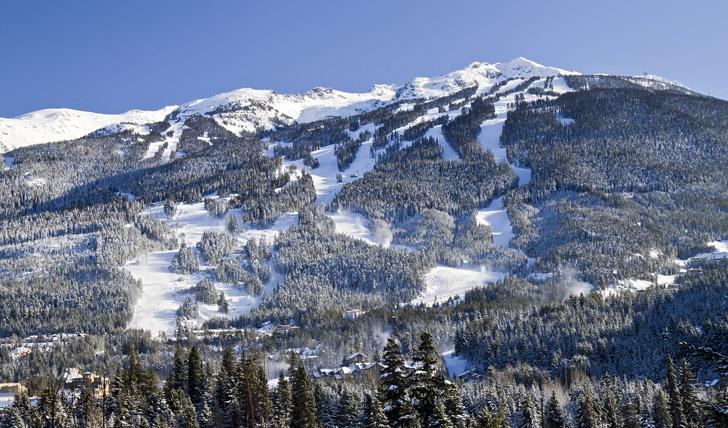 Bolt down Blackcomb Mountain