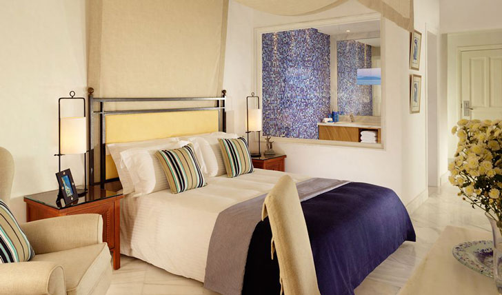 Your room at the Mykonos Grand