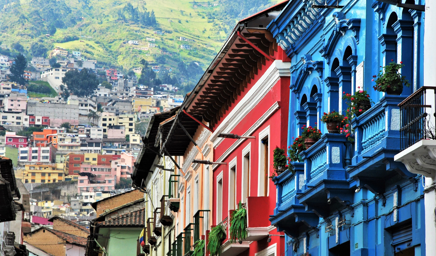 Absorb Quito's colonial heritage