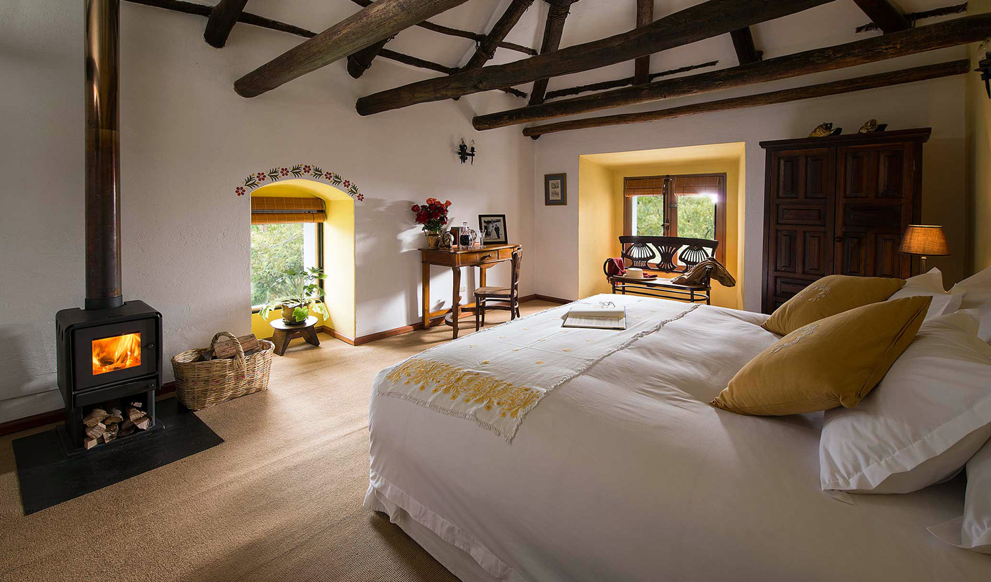Suite dreams at the Hacienda Zuleta