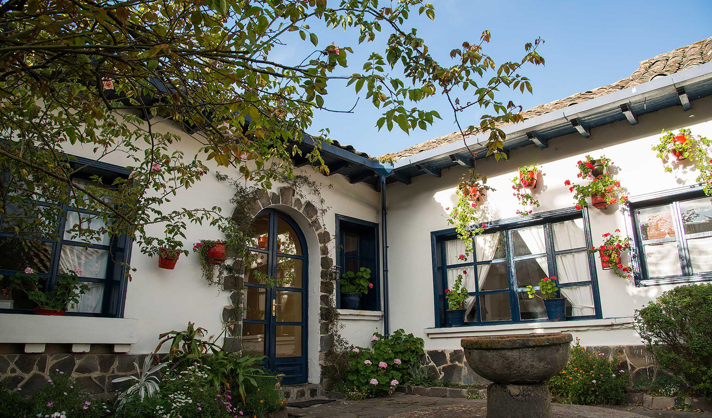 The quaint boutique hotel, Hacienda Zuleta