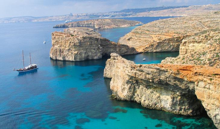 Malta's coastline