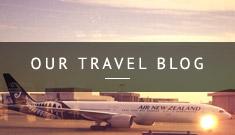Air New Zealand travel blog