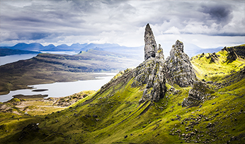 Rock formations on the Isle of Skye | Scotland