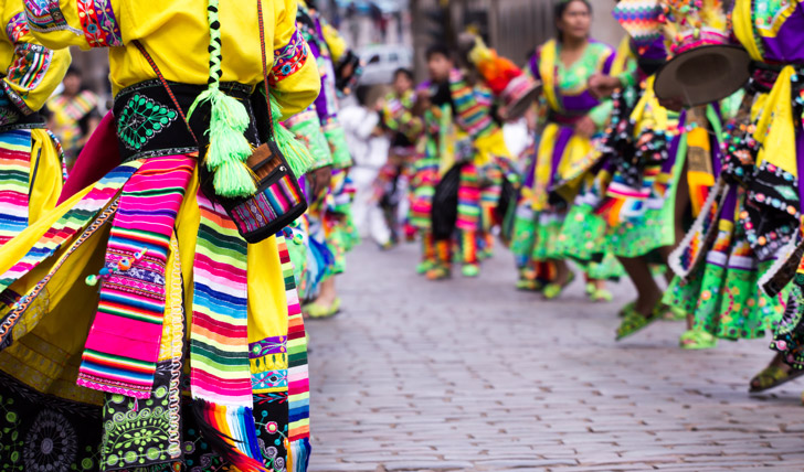 Enjoy a colourful Cusco festival