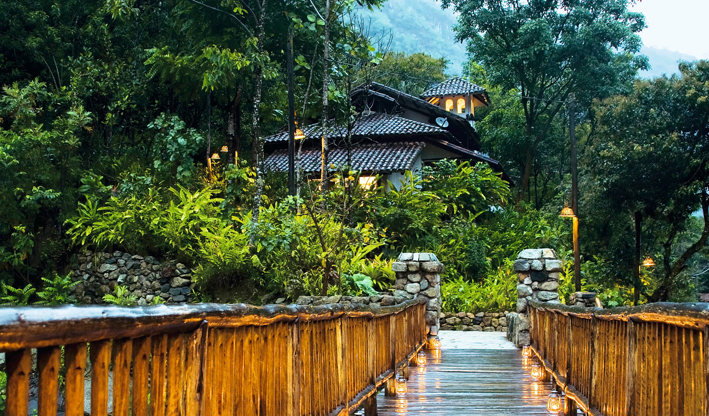 Arrive to secluded luxury at Inkaterra Machu Picchy