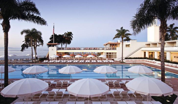 Beach & Cabana Club, The Four Seasons, Santa Barbara
