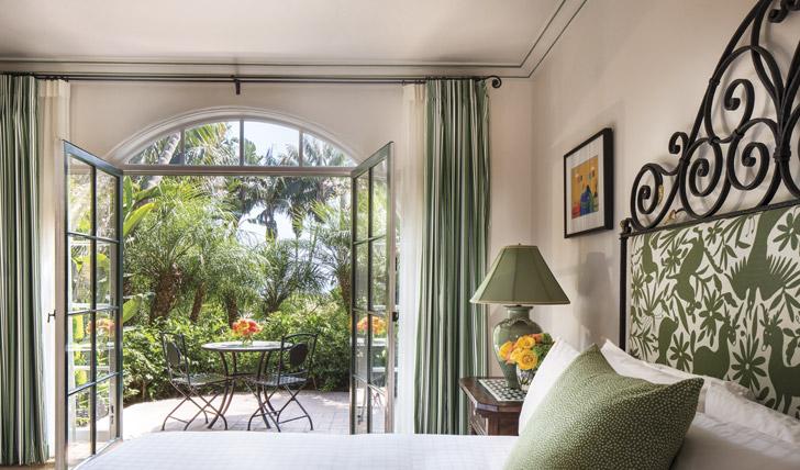 Garden suite at the Four Seasons The Biltmore, Santa Barbara