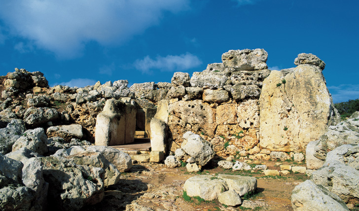 Malta's historic ruins